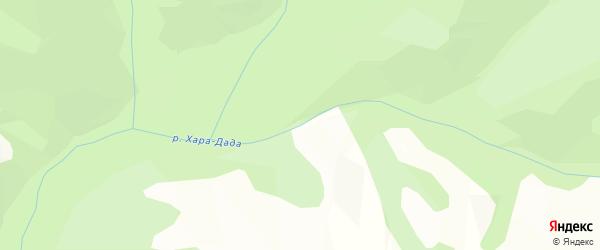 Карта местечка Хары Толгойна Аман в Бурятии с улицами и номерами домов