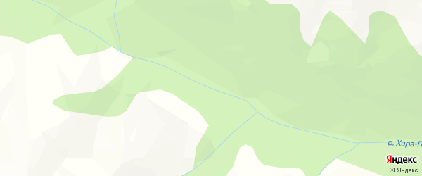 Карта местечка Дэдэ Хары Гола в Бурятии с улицами и номерами домов