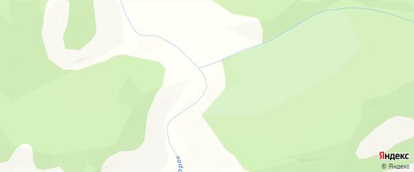 Карта населенного пункта Усть Сорок в Бурятии с улицами и номерами домов