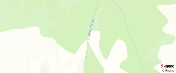 Карта местечка Хухэ Байсы в Бурятии с улицами и номерами домов