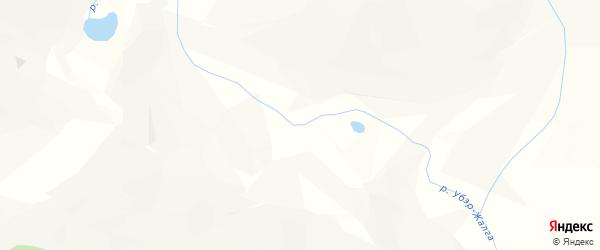 Карта местечка Убэра Турага в Бурятии с улицами и номерами домов