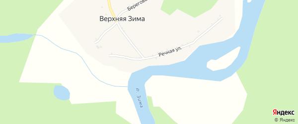 Северная улица на карте Зимы с номерами домов