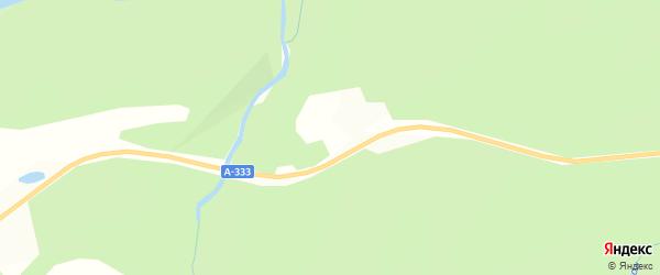 Карта местечка Зангисана в Бурятии с улицами и номерами домов