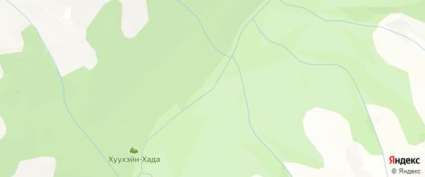 Карта местечка Шумака в Бурятии с улицами и номерами домов