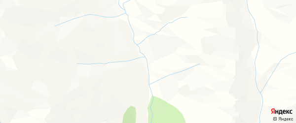 Карта местечка Елоты в Бурятии с улицами и номерами домов