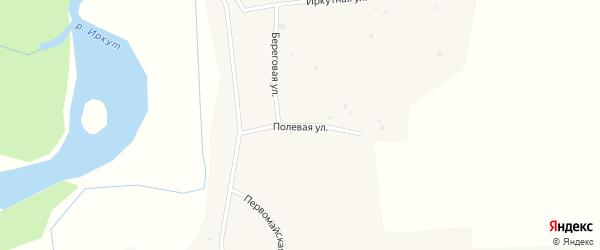 Полевая улица на карте села Шимков с номерами домов