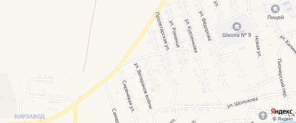 Улица Автомобилистов на карте Зимы с номерами домов