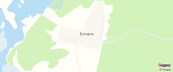 Карта улуса Енгорга в Бурятии с улицами и номерами домов