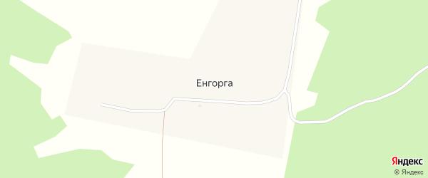 Таежная улица на карте улуса Енгорга с номерами домов