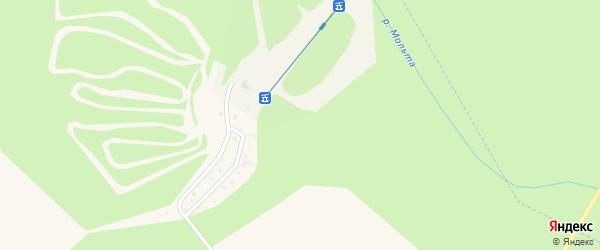 Северный микрорайон на карте Саянска с номерами домов