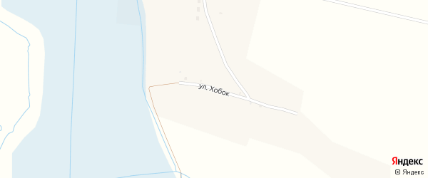 Улица Хобок на карте Талого села с номерами домов