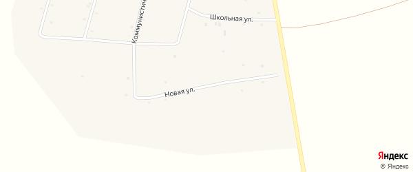 Новая улица на карте села Галбая с номерами домов