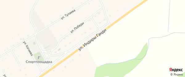 Улица И.Ганди на карте поселка Зун-Мурино с номерами домов