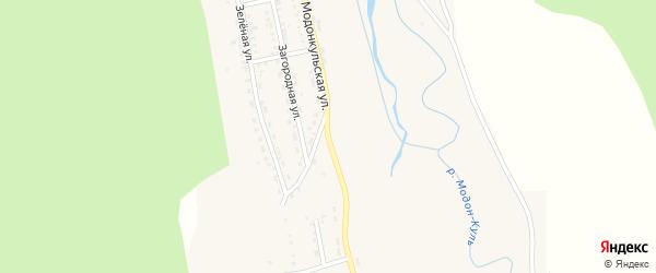 Модонкульская улица на карте Закаменска с номерами домов