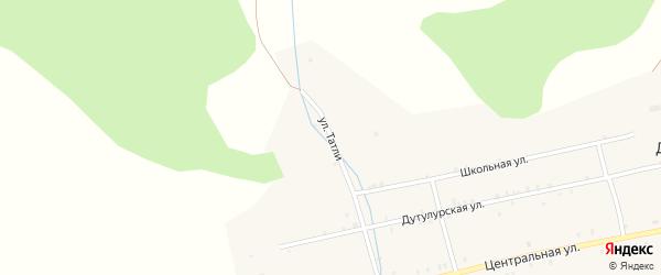 Улица Татли на карте улуса Дутулур с номерами домов