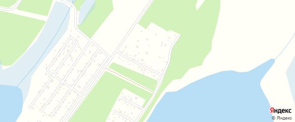Подгорный переулок на карте Южного садового некоммерческого товарищества с номерами домов