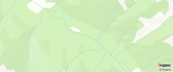 Карта местечка Осиновки в Бурятии с улицами и номерами домов