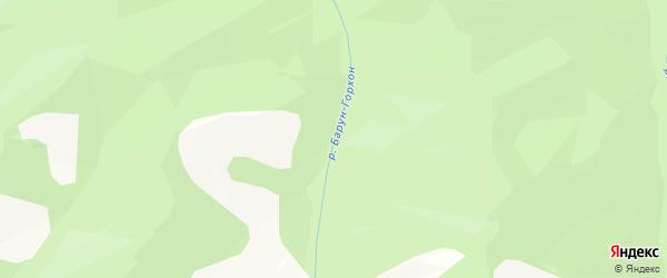 Карта местечка Баруна Хая в Бурятии с улицами и номерами домов