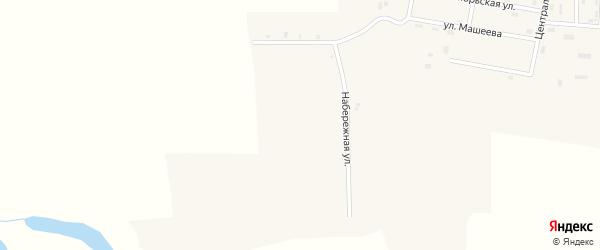 Центральная улица на карте села Оера с номерами домов