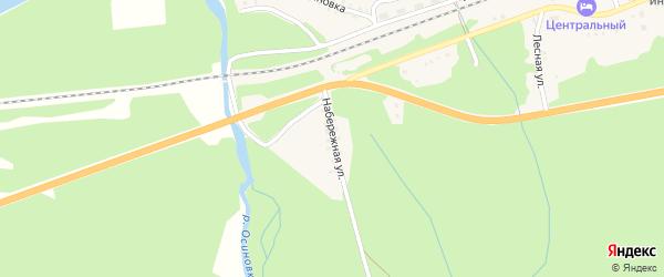 Набережная улица на карте Танхоя поселка с номерами домов