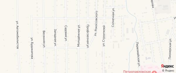 Профсоюзная улица на карте села Петропавловки с номерами домов