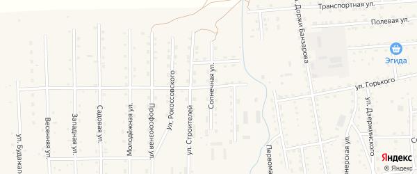 Промышленная улица на карте села Петропавловки с номерами домов