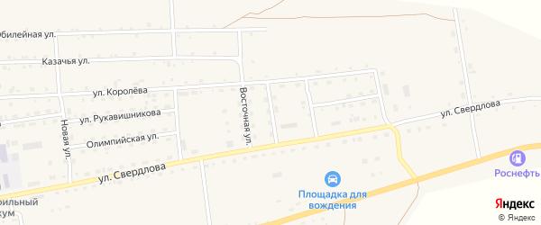 Улица Мелиораторов на карте села Петропавловки с номерами домов