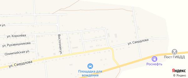 Улица Маяковского на карте села Петропавловки с номерами домов
