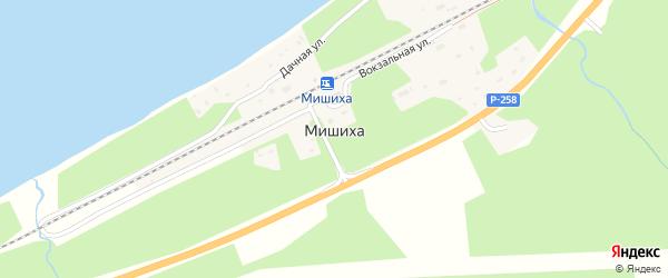 Путейская улица на карте поселка Мишихи с номерами домов