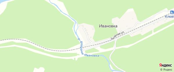 Байкальская улица на карте поселка Ивановки с номерами домов