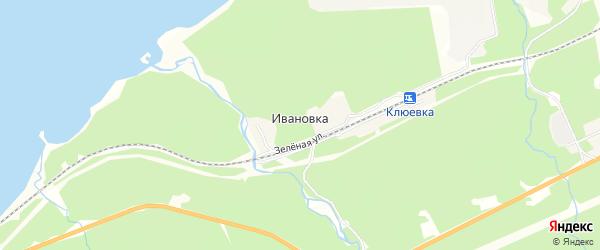 Карта поселка Ивановки в Бурятии с улицами и номерами домов