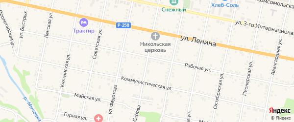 Улица Серова на карте Бабушкина с номерами домов