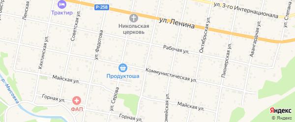 Улица Карла Маркса на карте Бабушкина с номерами домов