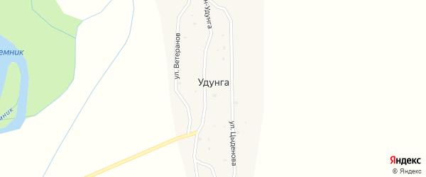 Местечко Хобэтэ на карте улуса Удунга с номерами домов