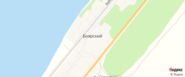 Новая улица на карте поселка Тимлюя с номерами домов