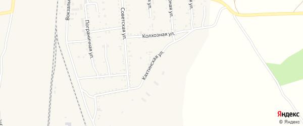 Кяхтинская улица на карте поселка Наушек с номерами домов