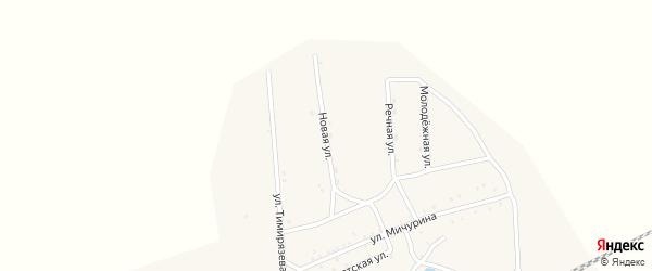 Новая улица на карте Хоронхоя поселка с номерами домов