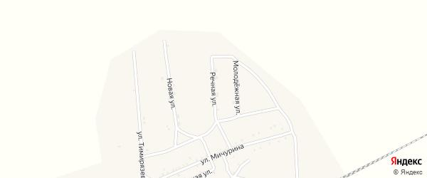 Речная улица на карте Хоронхоя поселка с номерами домов