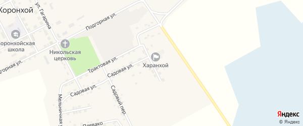 Строительная улица на карте Хоронхоя поселка с номерами домов