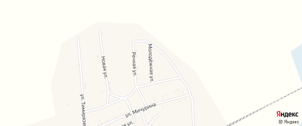 Молодежная улица на карте Хоронхоя поселка с номерами домов
