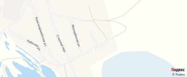 Нагорная улица на карте поселка Джиды с номерами домов