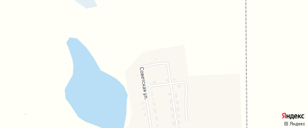 Озерная улица на карте села Селендума с номерами домов