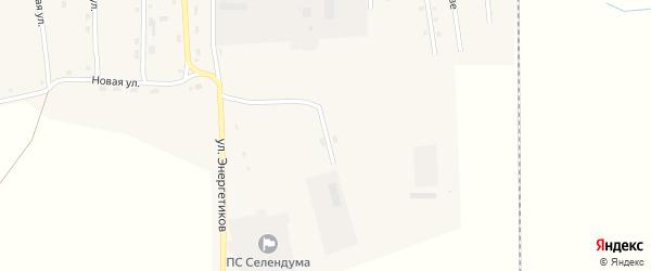 Транспортная улица на карте села Селендума с номерами домов