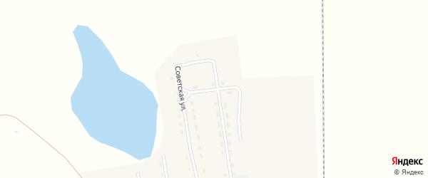 Октябрьская улица на карте села Селендума с номерами домов