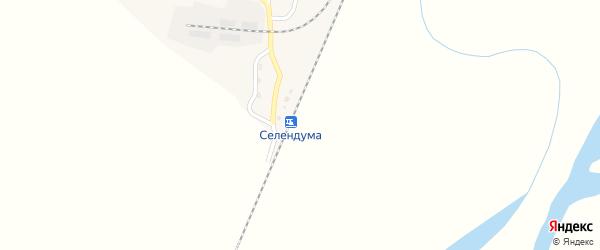 Станция Селендума на карте села Билютай с номерами домов
