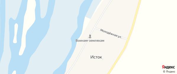 Трактовая улица на карте ОП Байкальского прибоя населенного пункта с номерами домов
