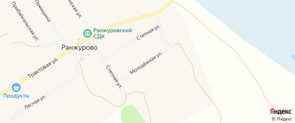 Молодежная улица на карте улуса Ранжурово с номерами домов