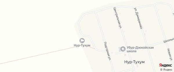 Улица Энергетиков на карте улуса Нур-Тухум с номерами домов