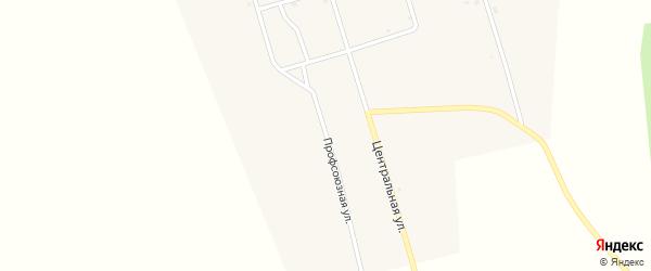 Профсоюзная улица на карте улуса Нур-Тухум с номерами домов