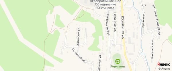 Улица Немчинова на карте Кяхты с номерами домов